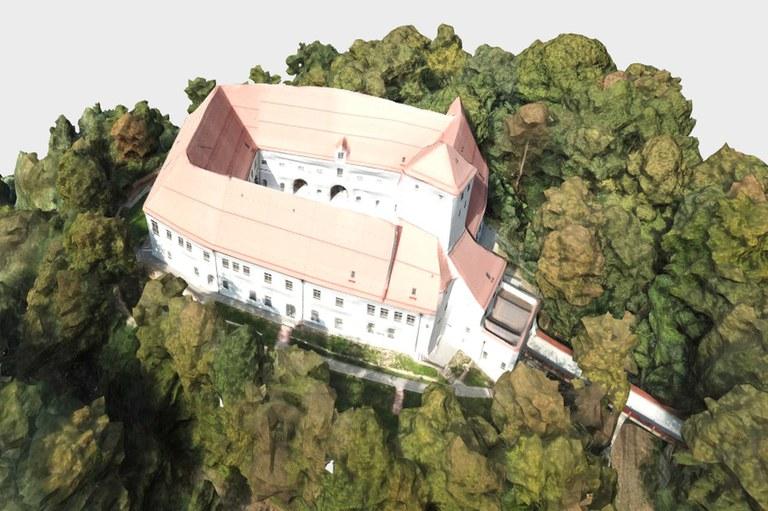 Schlösser und Kirchen in 3D