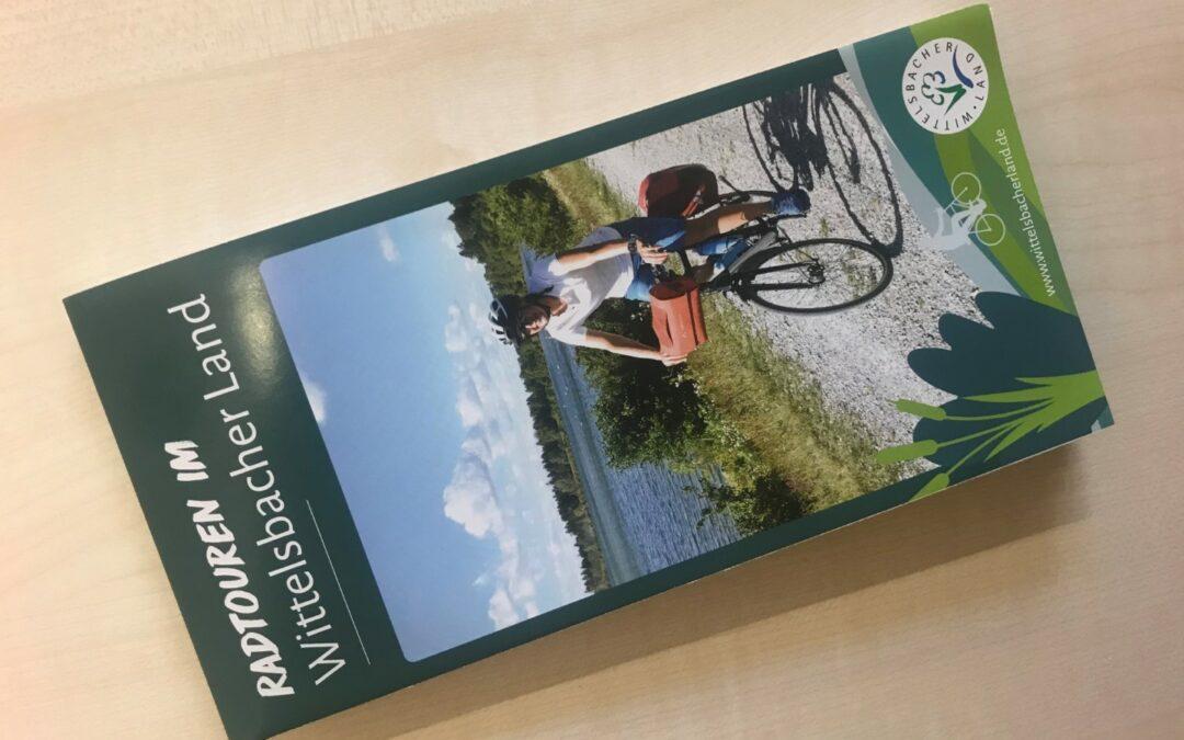 Neue Fahrradkarte für Touren im Wittelsbacher Land